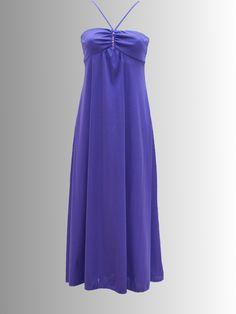 1970s Purple Sequined Maxi-Dress, £25.00