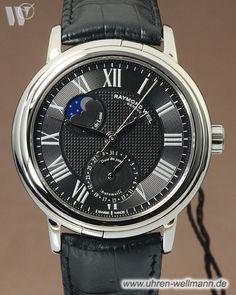Raymond Weil Maestro Mondphase 2839STC00209-(4255)- bei Uhren - Wellmann