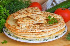 Быстрые сырные лепешки - рецепт с фото
