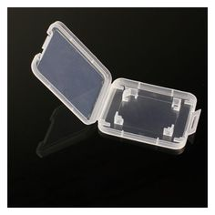 YOC-10PCS Transparent Standard SD SDHC Memory Card Case Holder Box Storage