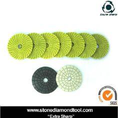4 Inch Diamond Polishing 9 Pad Super Thick DAMO Buff Granite Marble Concrete