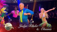 Judge Rinder & Oksana Platero Salsa to 'Spice Up Your Life' by Spice Gir...