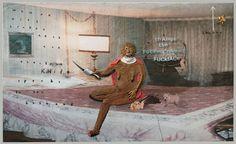 David Lynch is a helluva funny painter