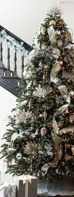 New Frosted Christmas Tree Decorations Holidays Ideas