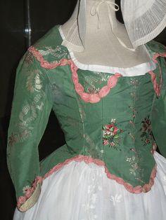 Caraco Jacket 1780's