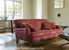 Holmfirth Sofa   Sofas And Stuff In William Yeoward Khalana Brick