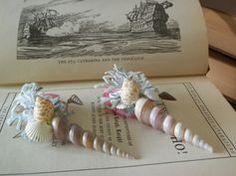 seashell boutonniere - Google Search
