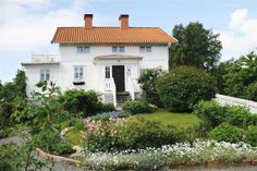 Shabby and Charme: In Svezia una splendida villa in stile shabby chic...