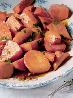 Sweet and spicy, this easy side is a new and tasty way to prepare sweet potatoes.