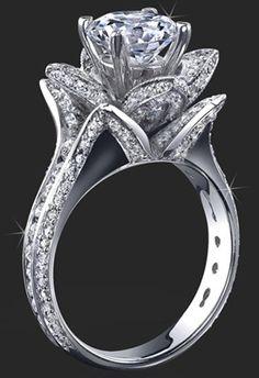 "(via ""I Do""…Romance / engagement rings)"