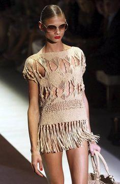 macrame dress Más
