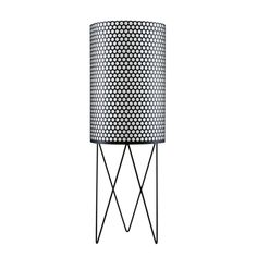 Shop For Gubi Pedrera Floor Lamp Online, ‪Australia‬. Select From Our Huge, Scandinavian, Modern, Gubi Range. Black Floor Lamp, Modern Floor Lamps, La Pedrera, Perforated Metal, Loft Spaces, Gaudi, Modern Industrial, Home Lighting, Contemporary Design