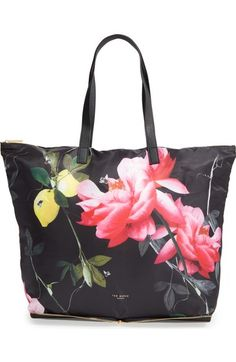 Ted Baker London 'Geralyn' Fold Away Shopper available at #Nordstrom