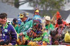 Cajun Mardi Gras riders... No Bourbon Street BS here.