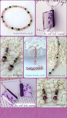 """Pantone® 2014 Color of the Year is """"Radiant Orchid"""". Here are a few selections to add that color to your jewelry box."""