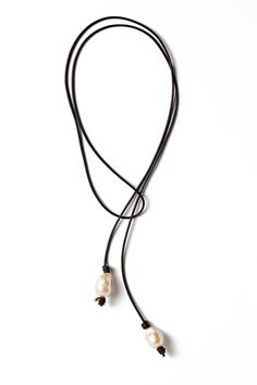 Pink Baroque Leather Lariat