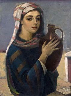 Νικόλαος Σαντοριναίος - Το κορίτσι με την στάμνα