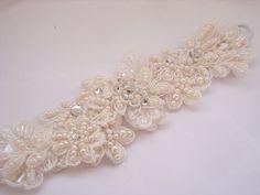 Bespoke #bridal cuff bracelet for Jenny || www.allaboutromance.com.au