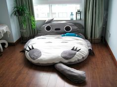 I NEED this bed!! #totoro #Ghibli