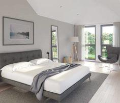 Schlafzimmer Im Skandinavischen Landhausstil! #weiß #schlafzimmer #bett  #kommode #IKEA #hemnes #grau #living #wohnen #wohnideen U2026