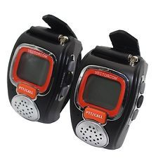 VECTORCOM Portable Digital Wrist Watch Walkie Talkie Two-Way Radio for Outdoo...