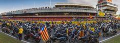 MónTerrassa | La Motorada reivindica la independència i recorre 1.027 km del país | Societat, 28/04/2017