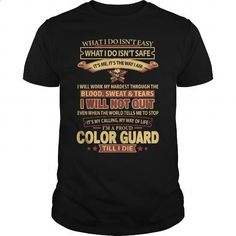 COLOR-GUARD - #vintage shirts #army t shirts. I WANT THIS => https://www.sunfrog.com/LifeStyle/COLOR-GUARD-144702291-Black-Guys.html?id=60505