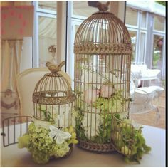 Flower Birdcages  www.the-angels.com