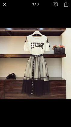 Teen Fashion Outfits, Mode Outfits, Korean Outfits, Trendy Outfits, Dress Outfits, Girl Outfits, Fashion Dresses, Korea Fashion, Kpop Fashion