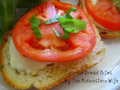 Caprese Bread Bites