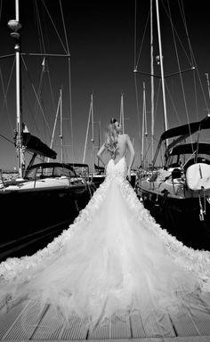 wow #wedding picture dress Galia Lahav 2013