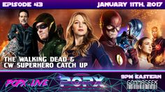 Team POPX rewinds from some of this hottest shows and their epic and awesome mid-season finales, we catch our listeners up on all things The Walking Dead, al. Geek Culture, Pop Culture, Dc Legends Of Tomorrow, Melissa Benoist, The Four, Entertainment Weekly, The Cw, The Flash, The Walking Dead