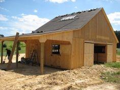 Barn Plans Love this small barn | backyard awsome | Pinterest | Barn ...