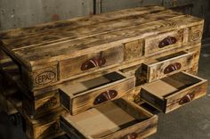 Upcycling sideboard – europallet