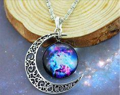 Pulsar Silver Moon Necklace