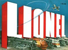 Lionel Trains catalog cover 1938