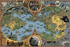 'HP Lovecraft Dreamland Map' Poster by sanguinolent Fantasy Map, Fantasy World, Dream Quest, Imaginary Maps, Yog Sothoth, H.p. Lovecraft, Lovecraft Cthulhu, Call Of Cthulhu, Dark Souls