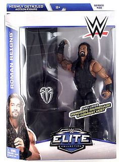 Mattel WWE Elite Series 38 Roman Reigns Toy Action Figure New In Box