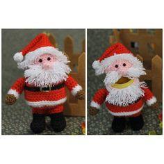 Häkelanleitung Ü-Weihnachtsmann