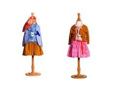Maan, girls clothes, skirt, cardigan, funky