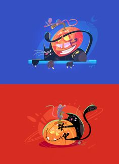Halloween themed character design by www.spovv.com Use for yout web ad campaign (social media, banners, stickers, cards, newsletter, etc) Size on 1200 x 800px