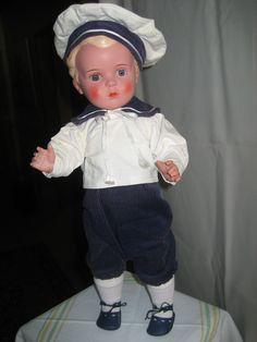 alte Schildkröt Puppe HANS, 45 cm, unbespielt | eBay