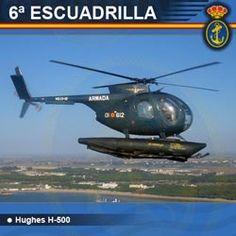6ª Escuadrilla de Aeronaves - H-500
