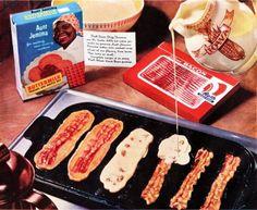 Bacon pancakes...