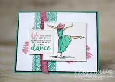 Beautiful You Dancer by HollysHobbies - Cards and Paper Crafts at Splitcoaststampers