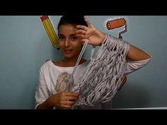 DIY Tricô de braço GOLA - YouTube