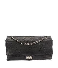 Chanel Reissue 31 Rue Cambon Black Monogram Leather Shoulder Bag