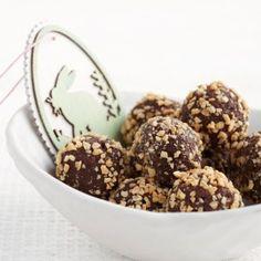 Fudgey Chocolate Peanut Cheesecake Truffles Recipe   Legendairy