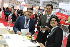 Doing business always with a smile - at IMEX 2013!  www.aimgroupinternational.com