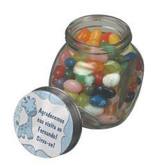 Pote de vidro no layout79, linha especial bebês.. Clique na imagem e veja preço e opções de personalização! #zazzle